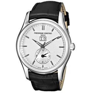 【CONSTANT 康斯登】雙時區自動機械腕錶(FC-325S6B6)