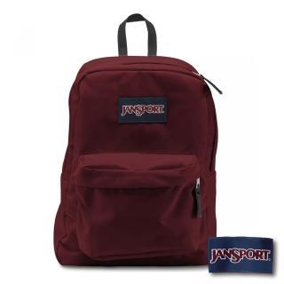 【JANSPORT】校園後背包SUPERBREAK系列(聖誕紅)