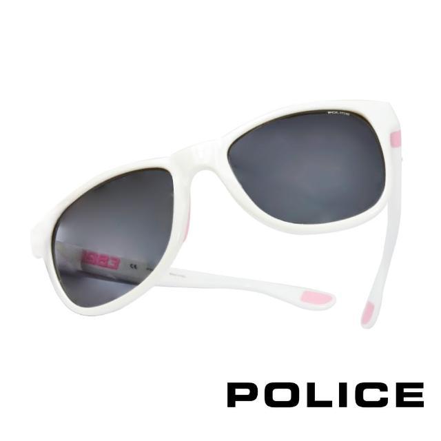 【POLICE】義大利警察都會款個性型男眼鏡-膠框(粉紅色-POS1823-04AO)
