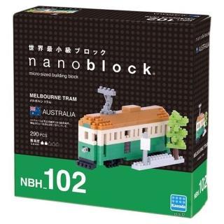 【Nanoblock 微小積木】澳洲墨爾本 - 輕軌電車(NBH-102)
