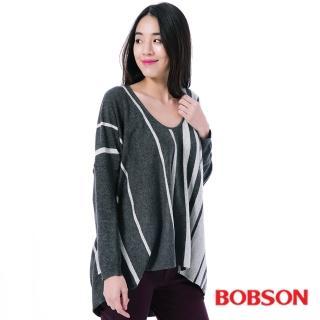【BOBSON】女款寬版毛線衣(35090-83)