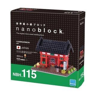 【Nanoblock 微小積木】日本東京 - 淺草寺雷門(NBH-115)