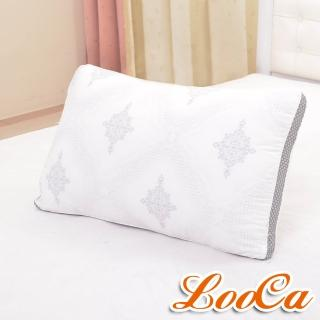 【LooCa】古典3D蠶絲棉枕(1入)
