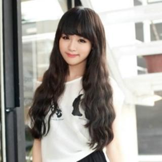【米蘭精品】女假髮整頂假髮長假髮(韓國時尚蓬鬆長捲髮美髮用品穿搭配件3色69o37)