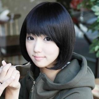 【米蘭精品】女假髮整頂假髮短假髮(日系清純逼真流行美髮用品穿搭配件3色69o66)