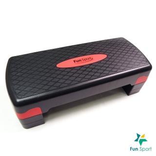 【Fun Sport】快節奏-階梯踏板-三段高度(韻律舞踏板-階梯舞-有氧高低衝擊)