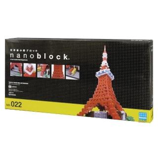【Nanoblock 微小積木】東京鐵塔 DX豪華新版(NB-022)