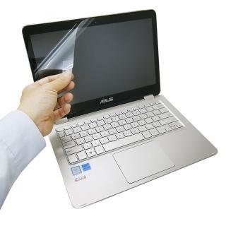 【EZstick】ASUS ZenBook UX360 系列專用 靜電式液晶螢幕貼(可選鏡面防汙或高清霧面)