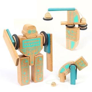 【ω-o2d】Ming Ta 磁力積木機器人系列20pcs