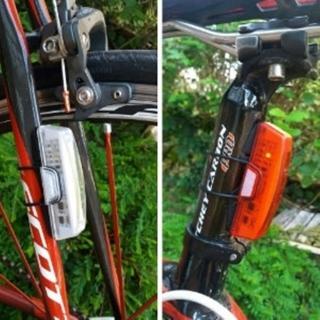 【May Shop】RAYPAL-2263自行車高效節能USB充電尾燈/後燈
