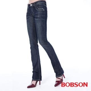 【BOBSON】女款輕薄小喇叭褲(9097-53)