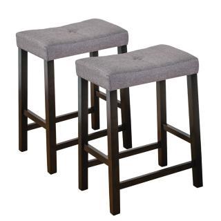 【Bernice】維特吧台椅/高腳椅(二入組合)