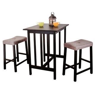 【Bernice】維特吧台桌椅組(一桌二椅)