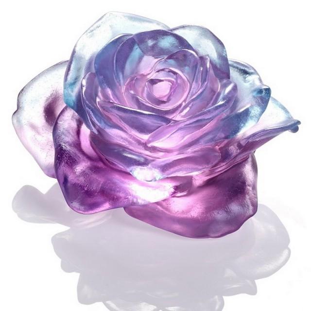 【琉璃工房LIULI】《有情天地》 是美麗的;必綻放系列(擺飾)