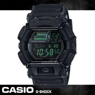 【CASIO 卡西歐 G-SHOCK 系列】經典全黑 防撞保護設計 潮流男錶(GD-400MB)