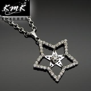 【KMK鈦鍺精品】《匠星》(服裝配飾項鍊)