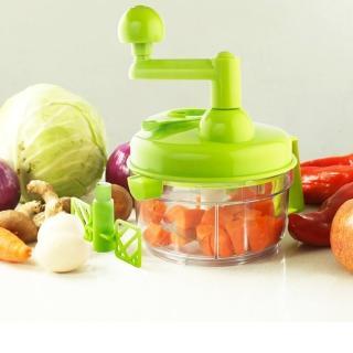 【PUSH!廚房用品】餡料處理機切菜器碎菜器食物料理機