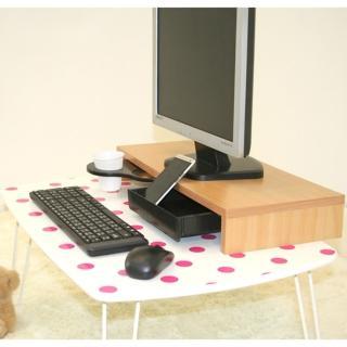 【ONE 生活】多功能營幕桌上架(附抽屜+飲料架)
