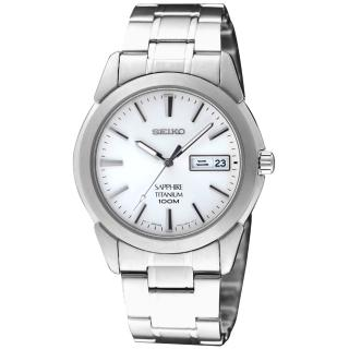 【SEIKO】精工 鈦 超薄都會時尚腕錶-白(7N43-0AS0S  SGG727P1)