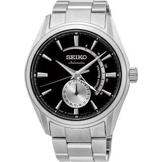 【SEIKO】PRESAGE 4R57 動力儲存機械腕錶-黑/42mm(4R57-00A0D  SSA305J1)