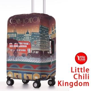 【LittleChili】行李箱套套532(倫敦彩 S)