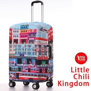 【LittleChili】行李箱套套524(曼谷彩 S)