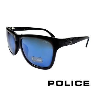 【POLICE】義大利警察都會款個性型男眼鏡膠框(黑色 POS1895-700B)