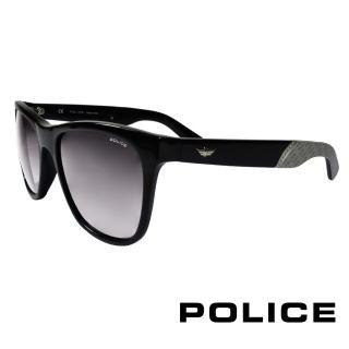 ~POLICE~義大利警察都會款 型男眼鏡^(黑灰色 POS1859~0700^)