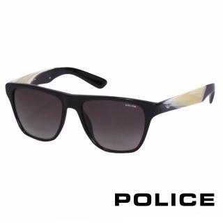 【POLICE】都會復古時尚太陽眼鏡(象牙白 POS1796-700X)