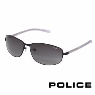 【POLICE】都會時尚太陽眼鏡(質感黑 POS8697-531X)