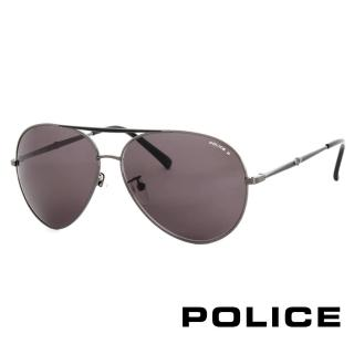 ~POLICE~飛行員太陽眼鏡 金屬大框面 ^(古銅色 POS8585~584P^)