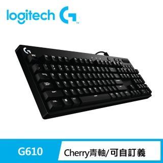 【Logitech 羅技】G610 機械遊戲鍵盤-青軸