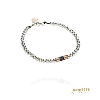 【J'code 真愛密碼】真愛方程式銀手鍊-女(摩登銀飾)