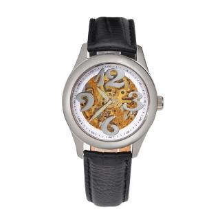 【FLUNGO佛朗明哥】愛麗絲花園機械腕錶-白(機械錶)