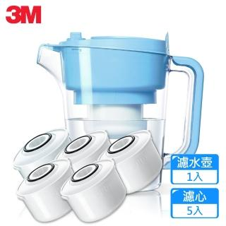 【3M】即淨長效濾水壺WP3000-BL晴空藍(1壺+5濾心)