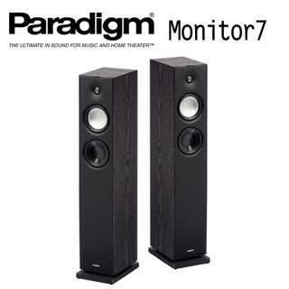 【Paradigm】落地型 劇院主喇叭 Monitor 7(黑色)