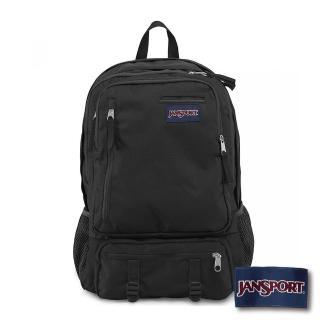 【JANSPORT】校園後背包ENVOY系列(黑)