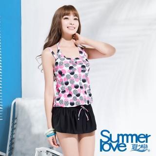 【夏之戀SUMMERLOVE】俏皮點點連身裙三件式泳衣(S16724)