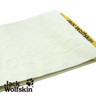 【采棉居】Jack Wolfskin飛狼緹花運動巾-米黃(22x110cm)