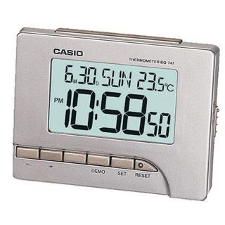 【CASIO】大字幕數位貪睡鬧鐘(DQ-747-8)   CASIO 卡西歐
