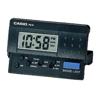 【CASIO】摺疊電子音鬧鐘(PQ-10-1)   CASIO 卡西歐