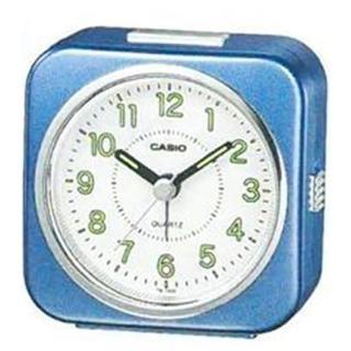 【CASIO】方形指針貪睡鬧鐘(TQ-143S-2)