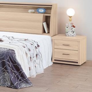 【時尚屋】米羅原切橡木床頭櫃5U6-4-03(床頭櫃 斗櫃 臥室)