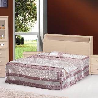 【時尚屋】龍達6尺加大雙人床5U6-7-21+02602二色可選(加大雙人床  床架  臥室)