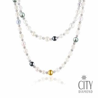 【City Diamond引雅】海洋物語(日本珍珠長項鍊)