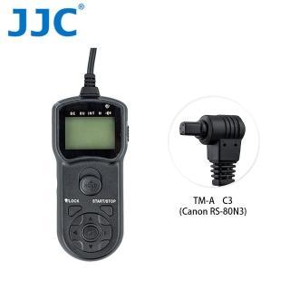 【JJC】TM-A 液晶定時快門線 C3(相容Canon RS-80N3)