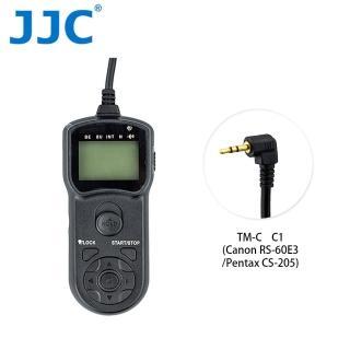 【JJC】TM-C 液晶定時快門線 C1(相容 Canon RS-60E3/Pentax CS-205)