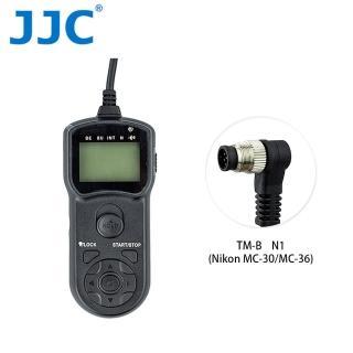 【JJC】TM-B 液晶定時快門線 N1(Nikon MC-30/MC-36)