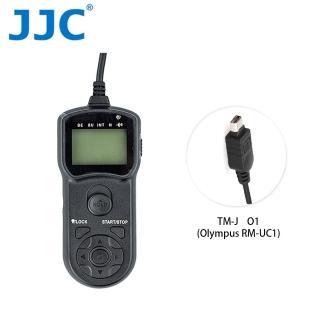 【JJC】TM-J 液晶定時快門線 O1(Olympus RM-UC1)