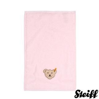 【STEIFF德國嬰幼兒用品】嬰幼兒 長毛巾 粉紅色(嬰幼兒毛巾/浴巾)